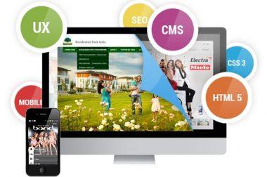 Уеб дизайн, изработка на сайт